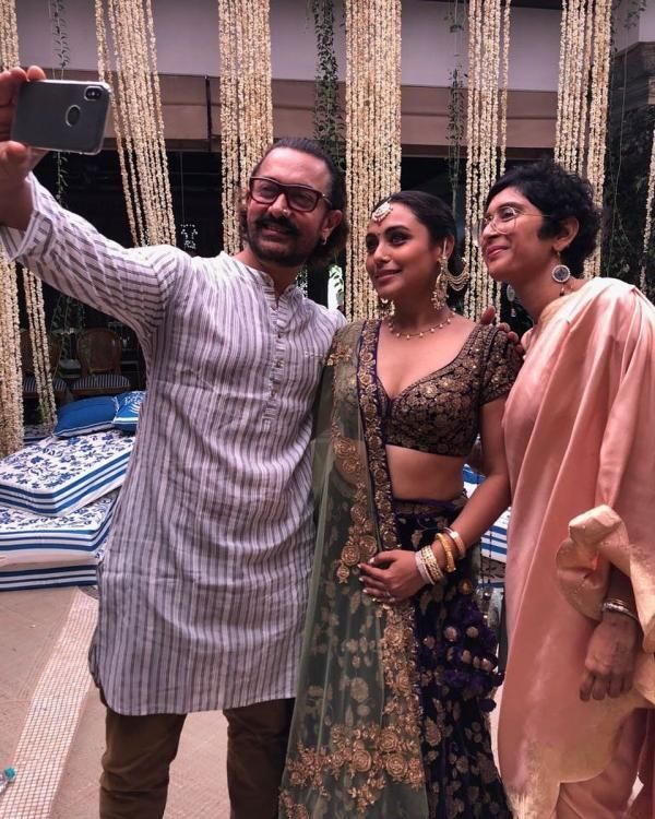 d9aaec4cf8 IN PICS: Sonam Kapoor-Anand Ahuja's wedding - Kareena, Rani, Ranveer and  others add to the glam quotient | PINKVILLA