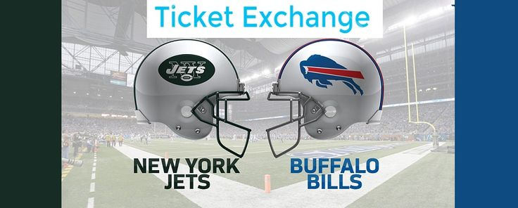 Get Buffalo Bills vs. New York Jets at New Era Field in Orchard Park, New York on Thursday September 15, 2016 - 8:25PM Tickets on NFL Ticket Exchange.    #NFLTicketExchange  #NFLTickets  #BuffaloBillsTickets  #NewYorkJetsTickets #NationalFootballLeague