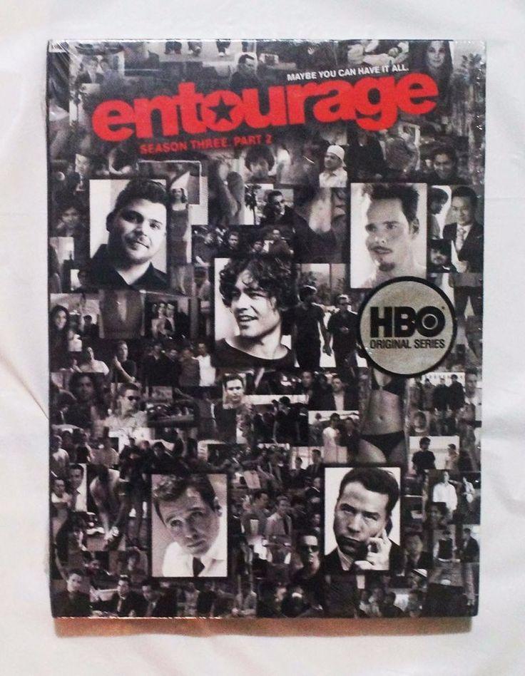 HBO Entourage: Season 3, Part 2 (2007) 2 DVD Set, + Bonus Features, Region 1