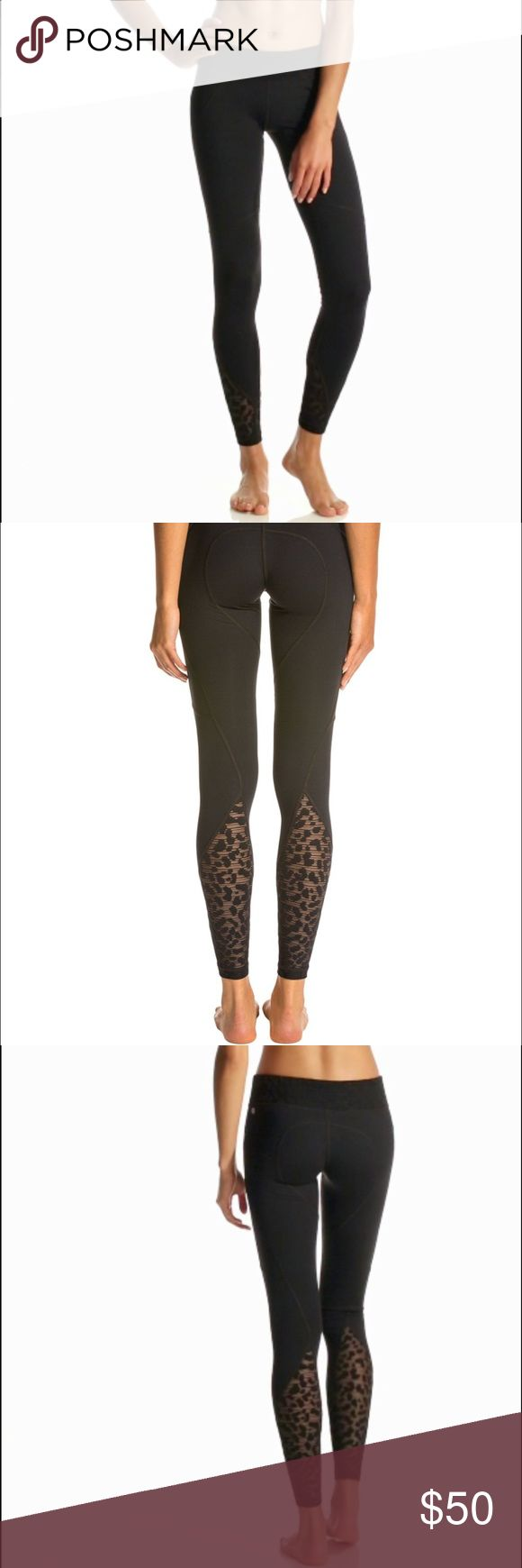 Vimmia Leopard Lace Yoga Leggings (like Lululemon) For Sale: New Without Tags Vimmia Leopard Lace Composure Yoga Leggings. Size medium, fits like a small (4-6) . Bought these online at Saks and when I got them I threw them in the wash and totally forgot about them. They have never been worn out, they run too small for me. Retail was $123! Very similar to Lululemon quality. lululemon athletica Pants Leggings