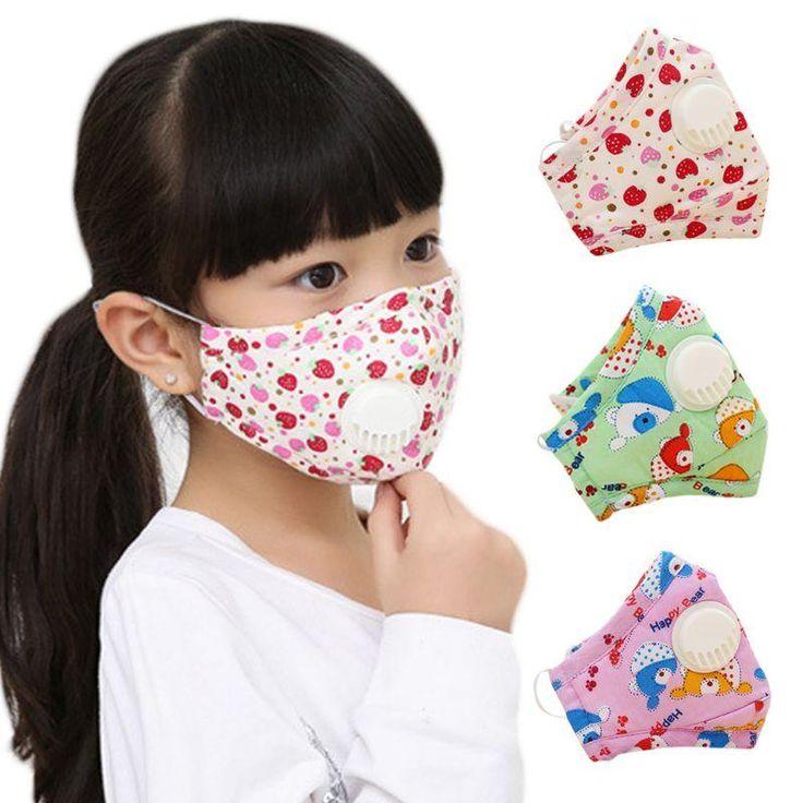 Kids Dustproof N95 Respirator Mask in 2020 Winter kids