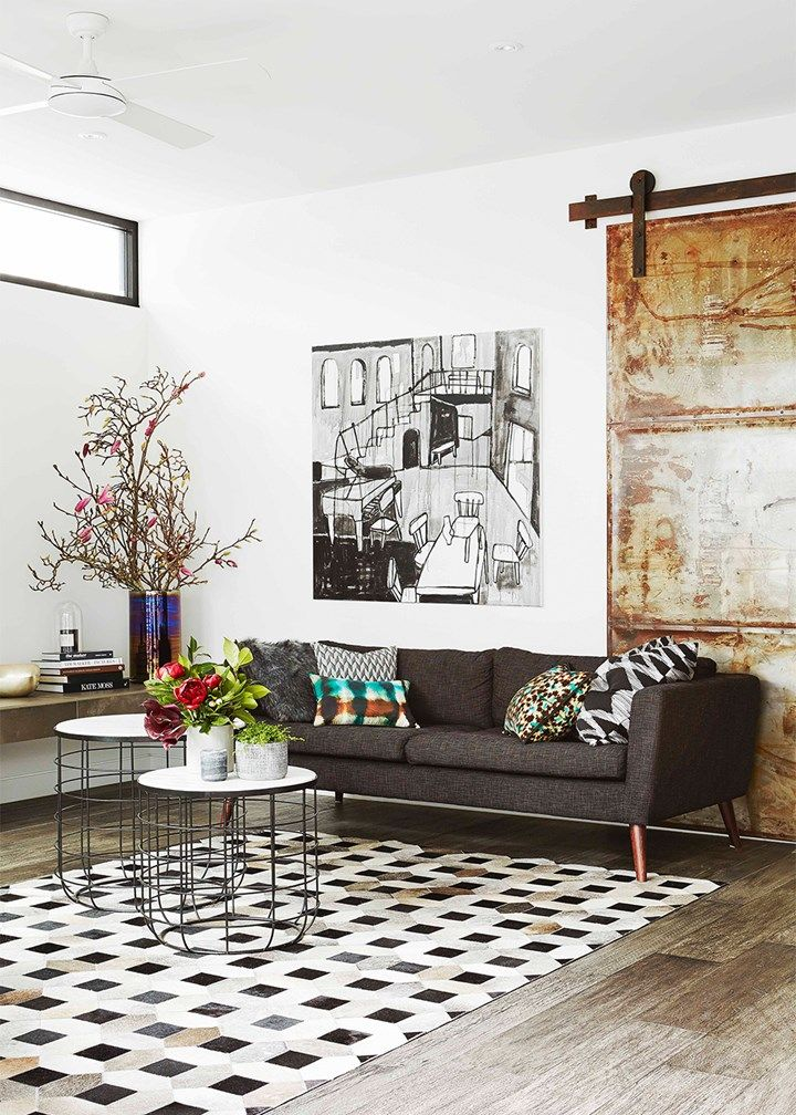 New York style warehouse living in renovated Melbourne heritage home | Home Beautiful Magazine Australia