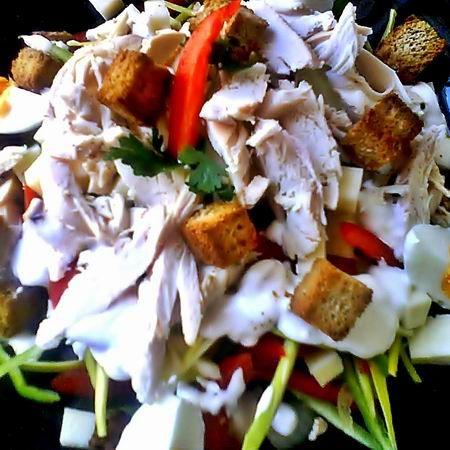 Hússaláta maradék sült csirkéből Recept képpel - Mindmegette.hu - Receptek