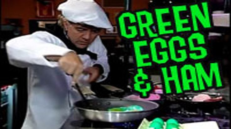 Funny song and skit about the Dr Seuss book Green Eggs and Ham.  I would use this during our reading month.