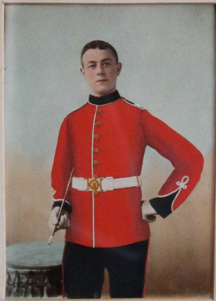 John Howe Sinclair again as a younger man