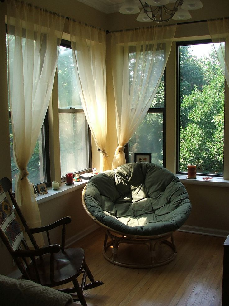 This would be the best place in the world to just curl up and read a book <3