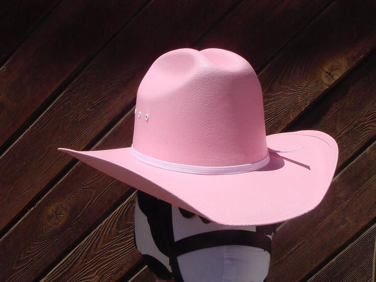 Cowgirl Hat On Rosa Mendoza