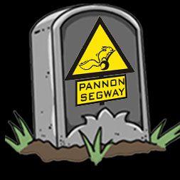 Pannon Segway Halloween logo