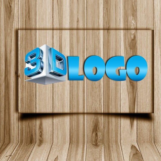 نموذج شعار مجسم ثلاثي الأبعاد Free Logo Mockup Logo Mockup Logo Design Free Templates