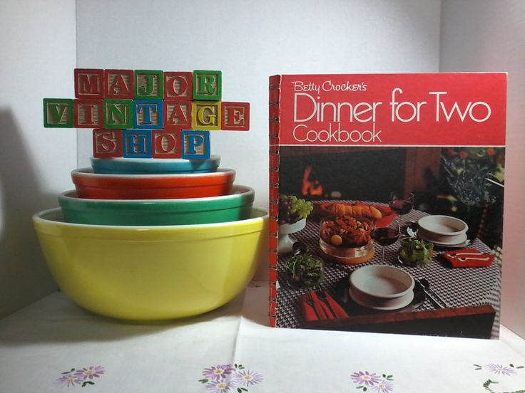 """Betty Crocker's"""" Dinner for Two"""" Cookbook first printing 1973. by MajorVintageShop on Etsy"""