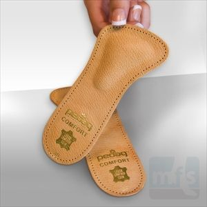 Pedag COMFORT Supports provide a metatarsal pad that easily fits into dress shoes. Used to treat forefoot pain including capsulitis and Morton's neuroma. Part of a family of metatarsal pads from Myfootshop.com.