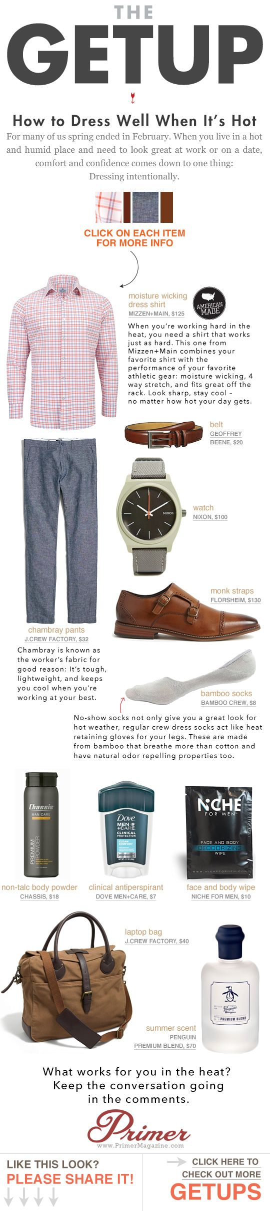 How to Dress Well When It's Hot | Primer