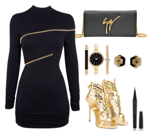 """""""Style #12"""" by lovine ❤ liked on Polyvore featuring Giuseppe Zanotti, Agent Provocateur, Style & Co. and Marc Jacobs"""
