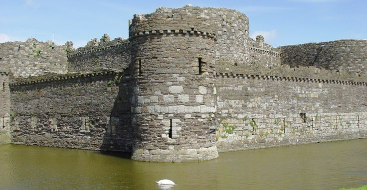 Beaumaris Castle On the Island of Anglesey, North Wales