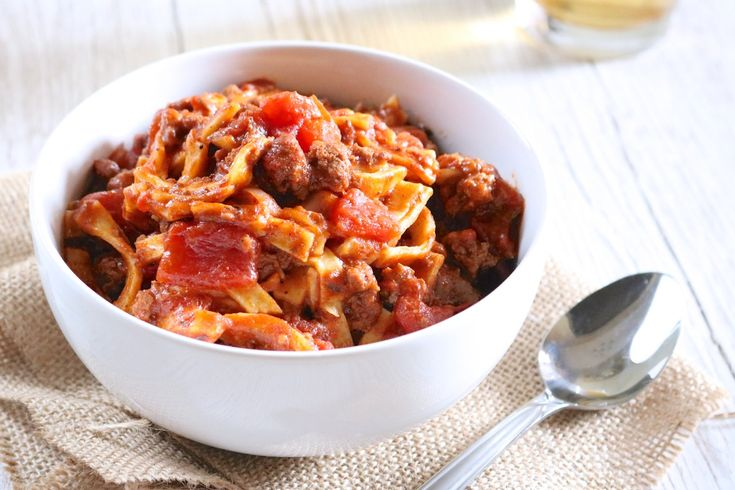 """Goulash   """"American style"""" goulash is the ultimate comfort food. Just one pot and 35 minutes is all it takes to make this paleo version of our family favorite.   eatsomethingdelicious.com"""
