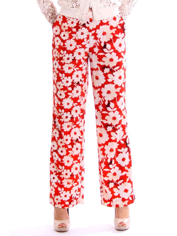 Twin-set - Jeans Pantalone Corallo