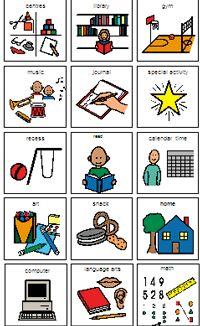 Executive Functions Visual Schedules Preschool Visual
