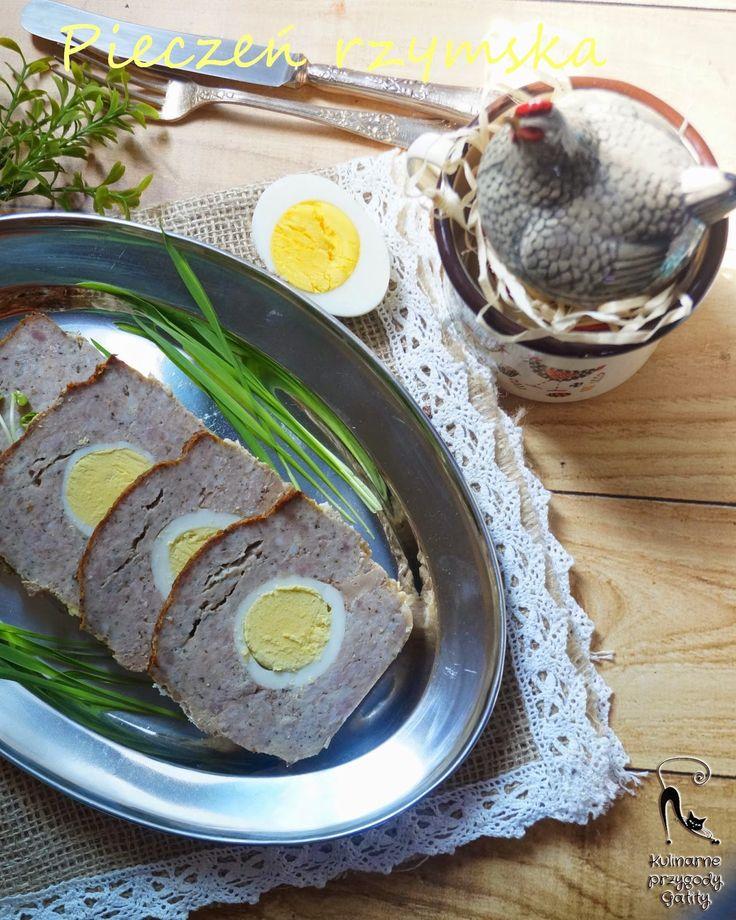 Kulinarne przygody Gatity: Pieczeń rzymska z jajkiem