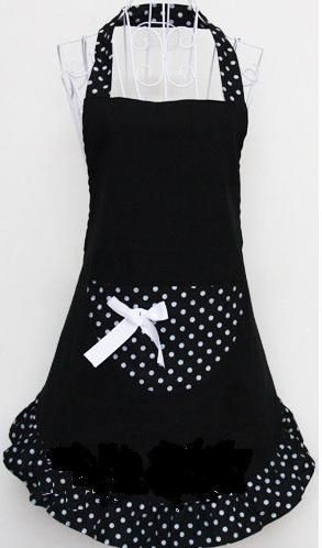 apron --- ok, this isn't food or recipes but it does have a relationship!  So cute...wonder if I can make one. (?)
