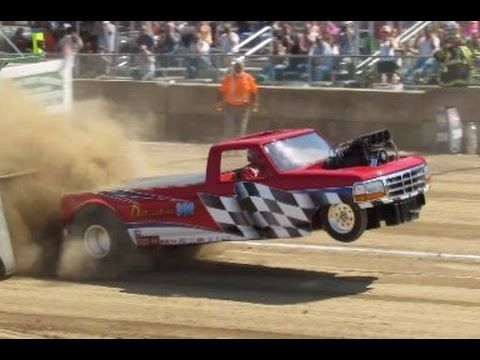 Two Wheel Drive 2016 Tractor Pulls in Greenwich NY Washington County Fair - YouTube