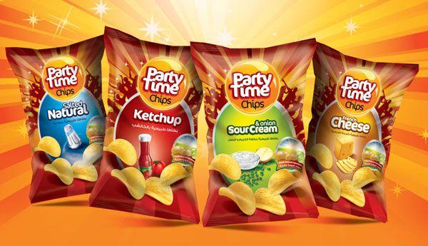 30+ Crispy Potato Chips Packaging Design Ideas