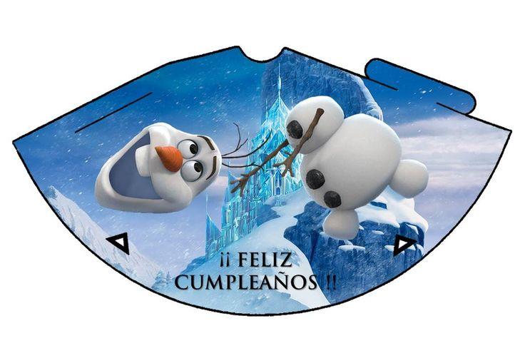 Gorro Olaf Frozen