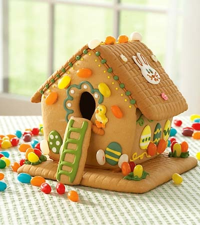 Gingerbread Birdhouse - perfect for Easter or Spring!