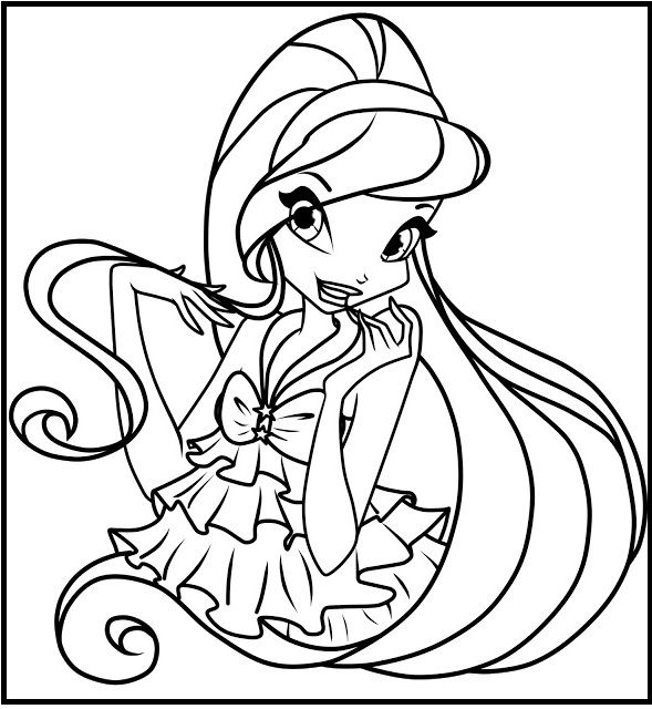 21 best Winx Club images on Pinterest | Coloring pictures for kids ...