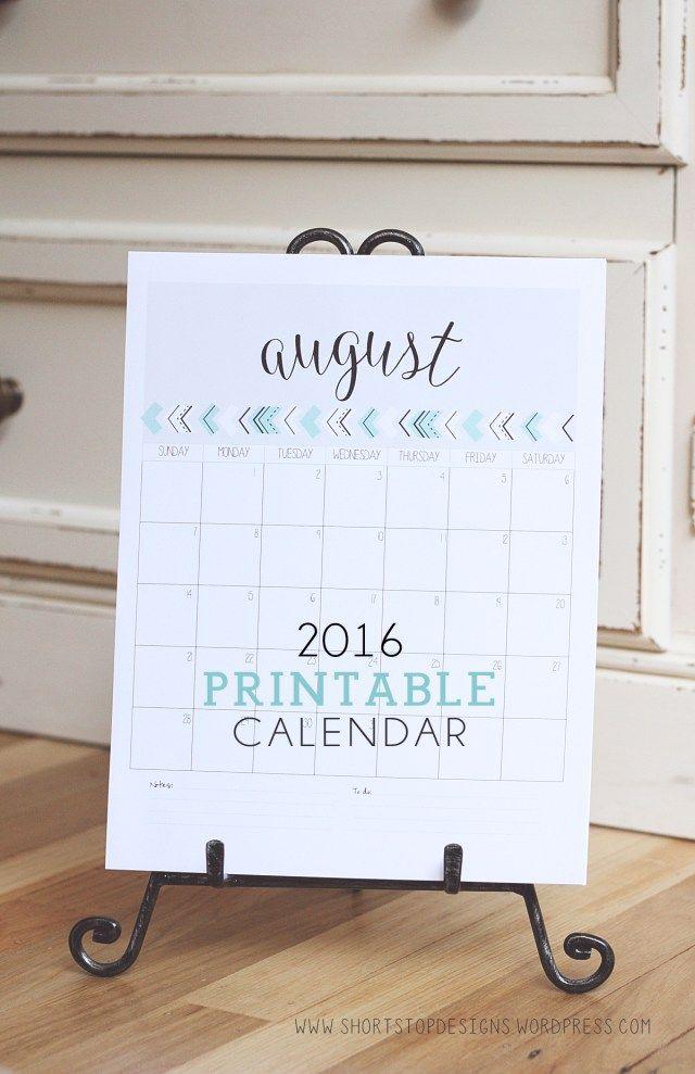 Best 25+ 2016 calendar printable ideas on Pinterest Free - printable calendar