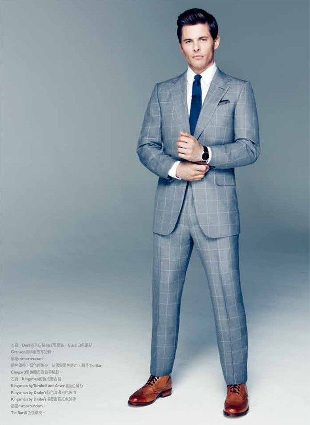 James Marsden for GQ Style Taiwan #suits