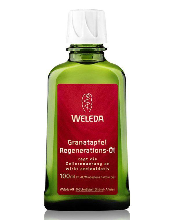 Гранатовое восстанавливающее масло для тела, Weleda купить от 1550 руб в Созвездии красоты