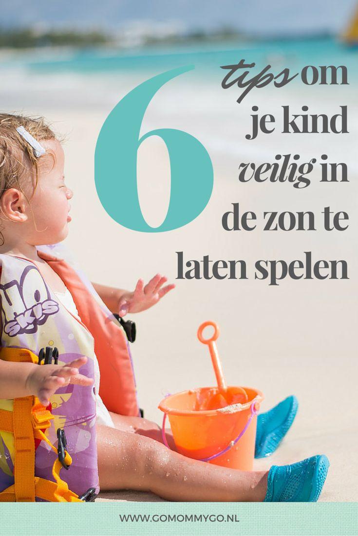 6 tips om je kind veilig in de zon te laten spelen | gomommygo.nl