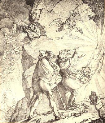 Peter Cornelius, Walpurgis Night. Faust led by Mephistopheles (Walpurgisnacht. Faust von Mephistopheles geführt) | Dark Classics