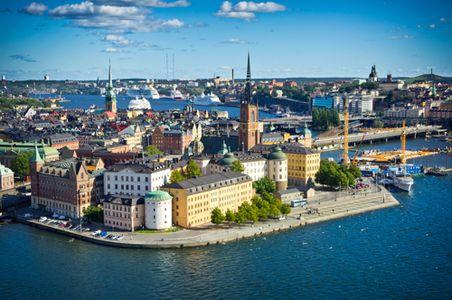 Vore trevligt med en helikopter tur över Stockholm och Gamla Stan. #helikopter #helicopter #gamlastan #stockholm