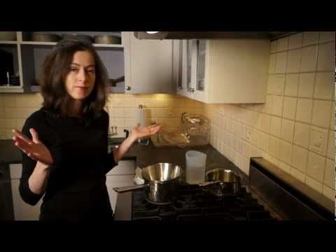 How to fake a double boiler