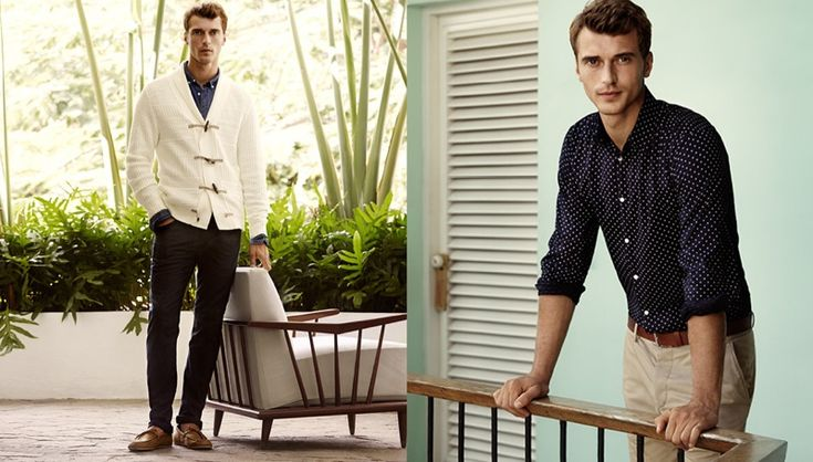 h and m clement chabernaud spring nautical fashions photos 0004 Clément Chabernaud Dons Spring Nautical Fashions for H&M