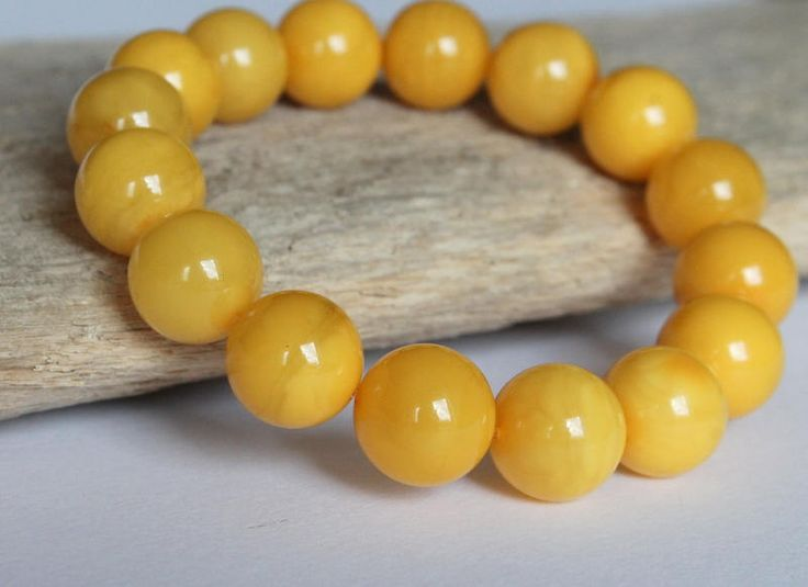 Butterscotch amber bracelet, amber jewelry, round amber beads, royal bracelet, antique amber, natural Baltic amber, 12.5 round amber beads by AmberDesign8 on Etsy