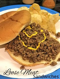 If you're all like 'loose...whaaat?' Then I'm with ya. However, it is definitely worth a try! Give ground beef new life with loose meat sandwiches!