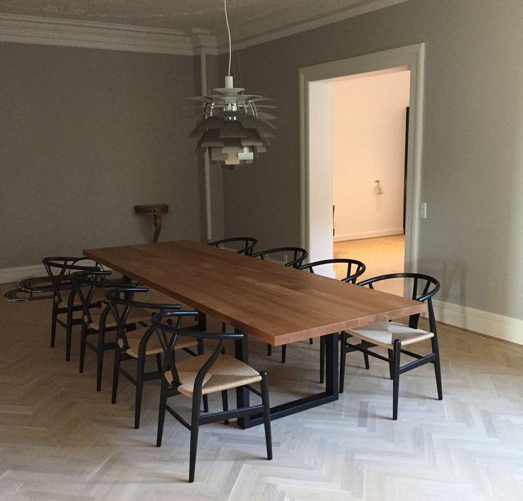 Handmade woodtable to your home.  http://www.kjeldtoft.com/