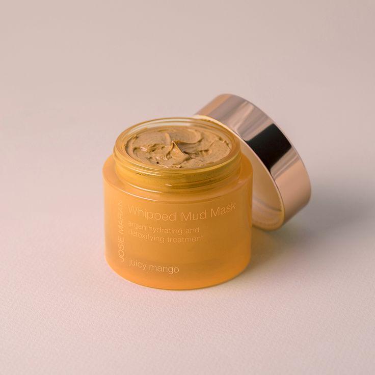 Whipped Mud Mask Argan Hydrating and Detoxifying Treatment in Juicy Mango - Josie Maran Cosmetics