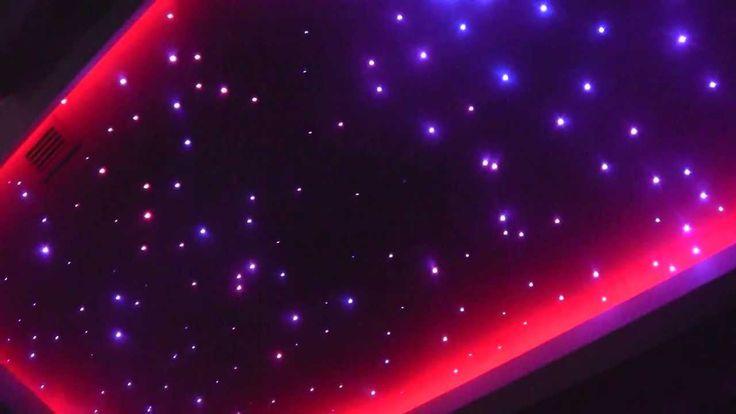 Starry Sky. Led lighting. FIber Optic Lighting. Led RGB Strips. Światłowody
