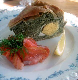 Herkkusuun lautasella-Ruokablogi: Torta Pasqualina