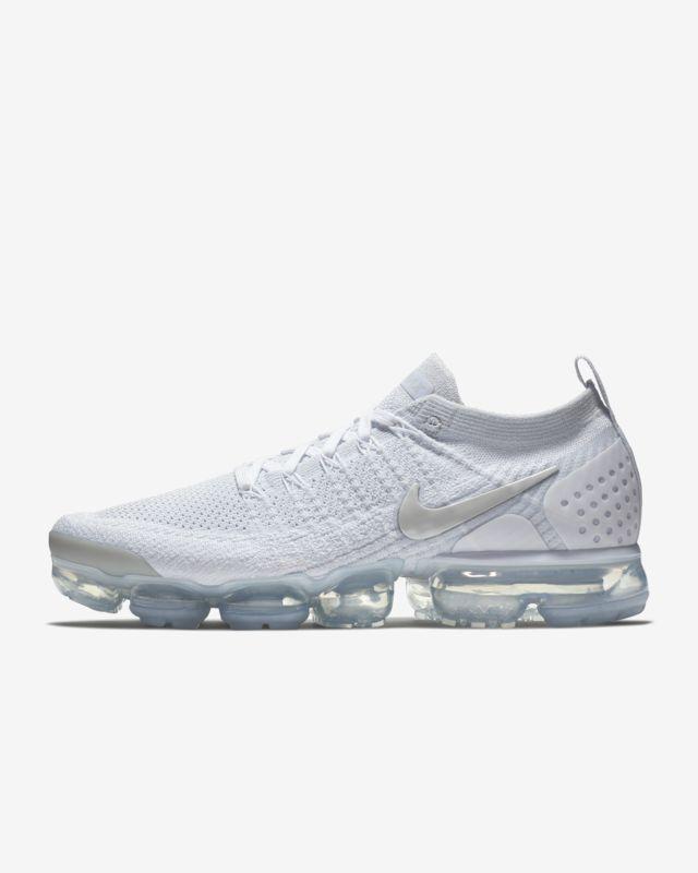 Air VaporMax Flyknit 2 Shoe Szare buty sportowe, Nike Air, Nike  Grey trainers, Nike air, Nike