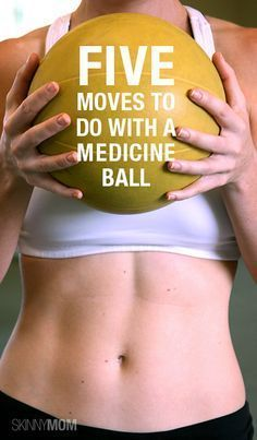 Work your whole body with these 5 moves. Grab your medicine ball and get to work! Let us know what you think!
