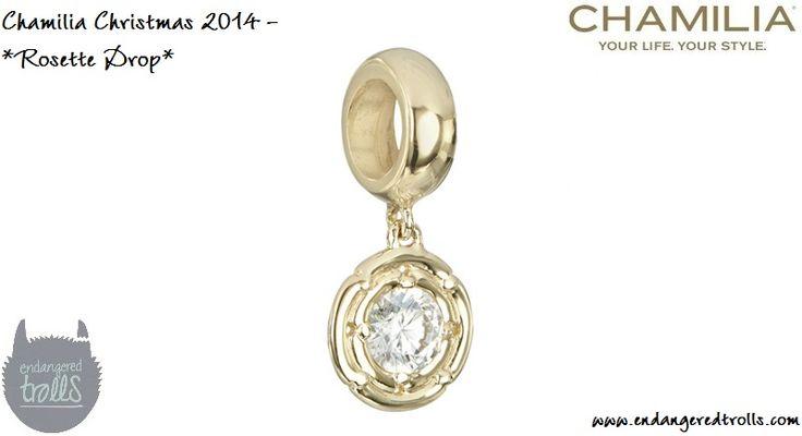Chamilia Rosette Drop