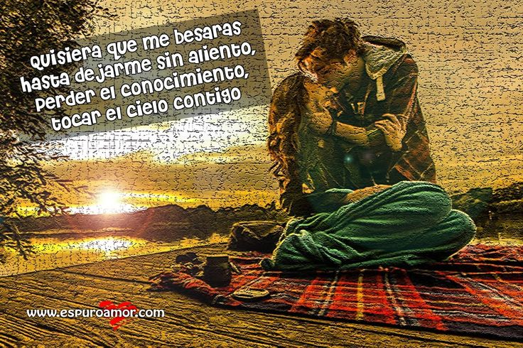 Frase de amor con pareja dándose un beso en tarde de picnic - http://espuroamor.com/2014/03/frase-de-amor-con-pareja-dandose-un-beso-en-tarde-de-picnic.html #Frasesparaenamorar, #Frasesromanticas, #Imagenesdeamor, #Imagenesdeparejas