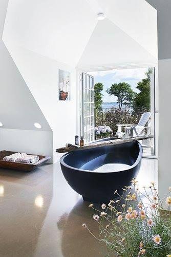Die besten 25+ Black bathtub Ideen auf Pinterest Löwenfußen - luxus badezimmer einrichtung