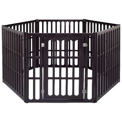 "IRIS 39.88"" Extra Large 6 Panel Indoor/Outdoor Pet Pen 