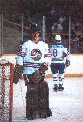 Gary Smith with Winnipeg Jets