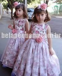 Resultado de imagem para vestidos de tecido criança
